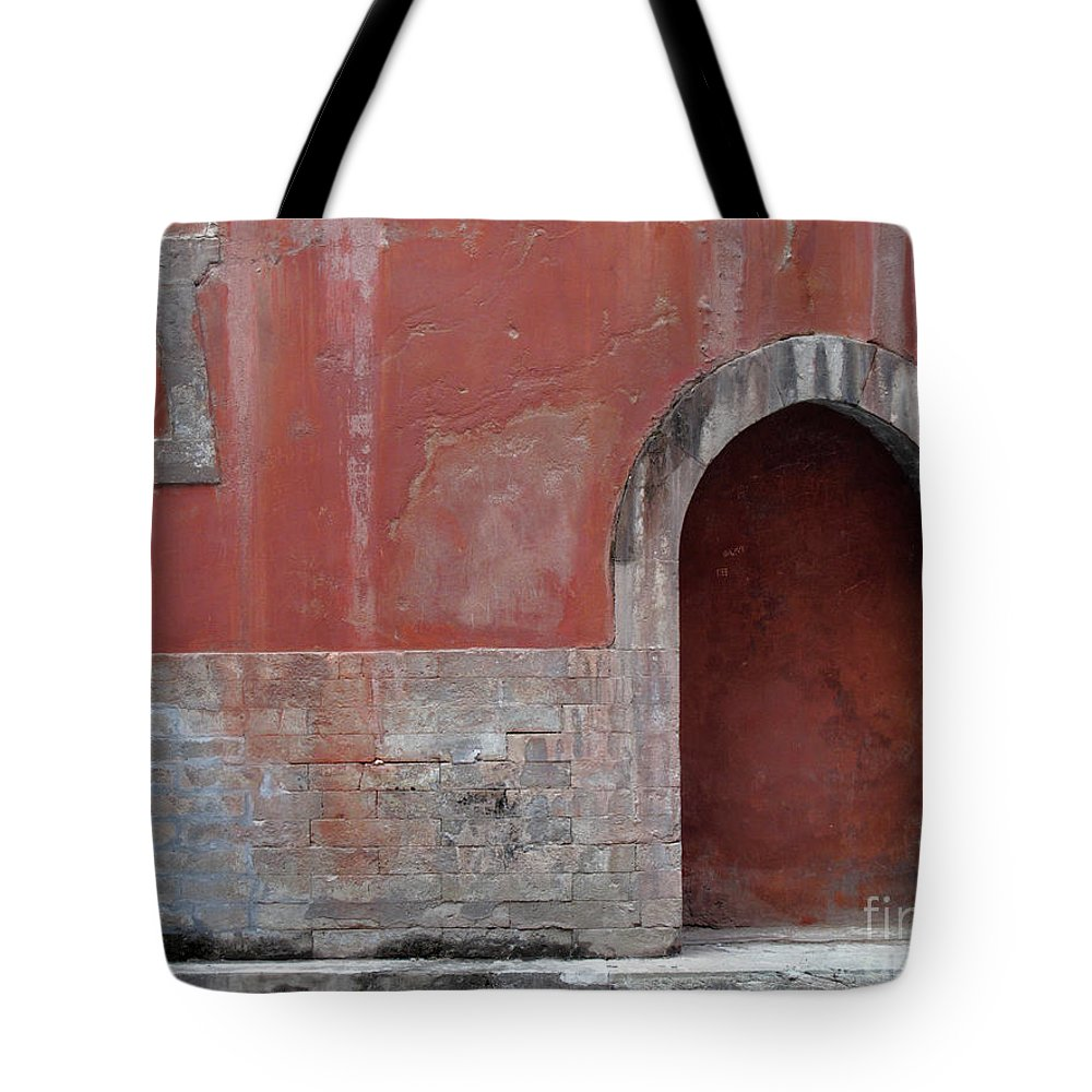 Arty Tote Bag featuring the photograph Antique Facade by Stefania Levi