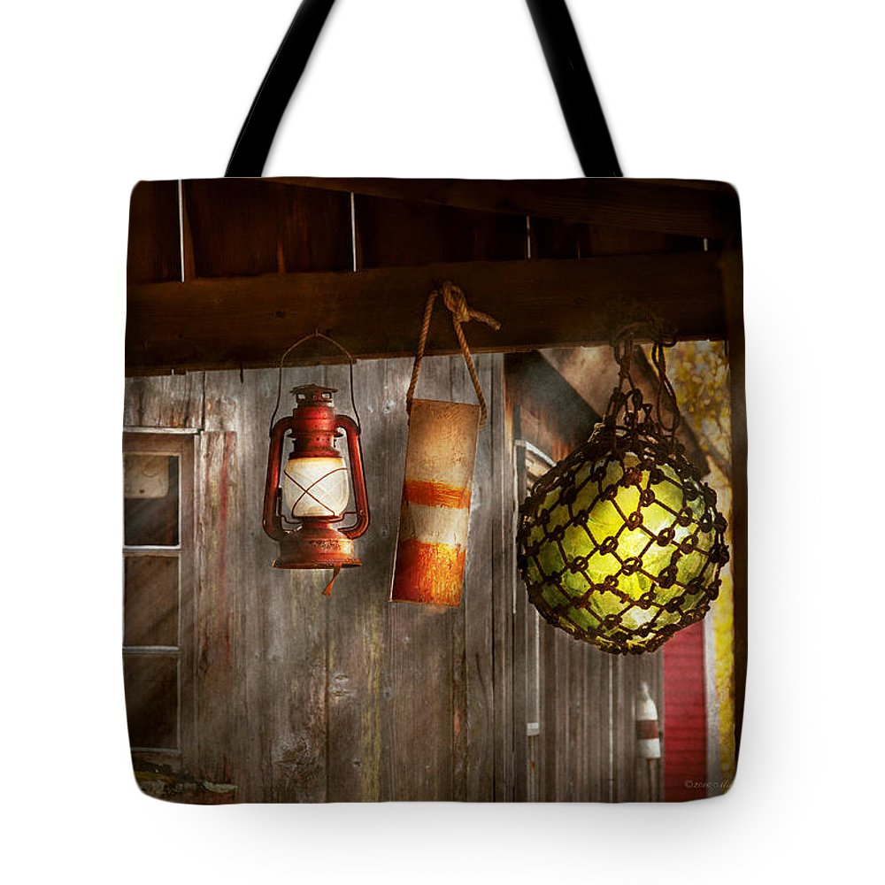 Still Life Tote Bag featuring the photograph Antique - Hanging Around by Mike Savad