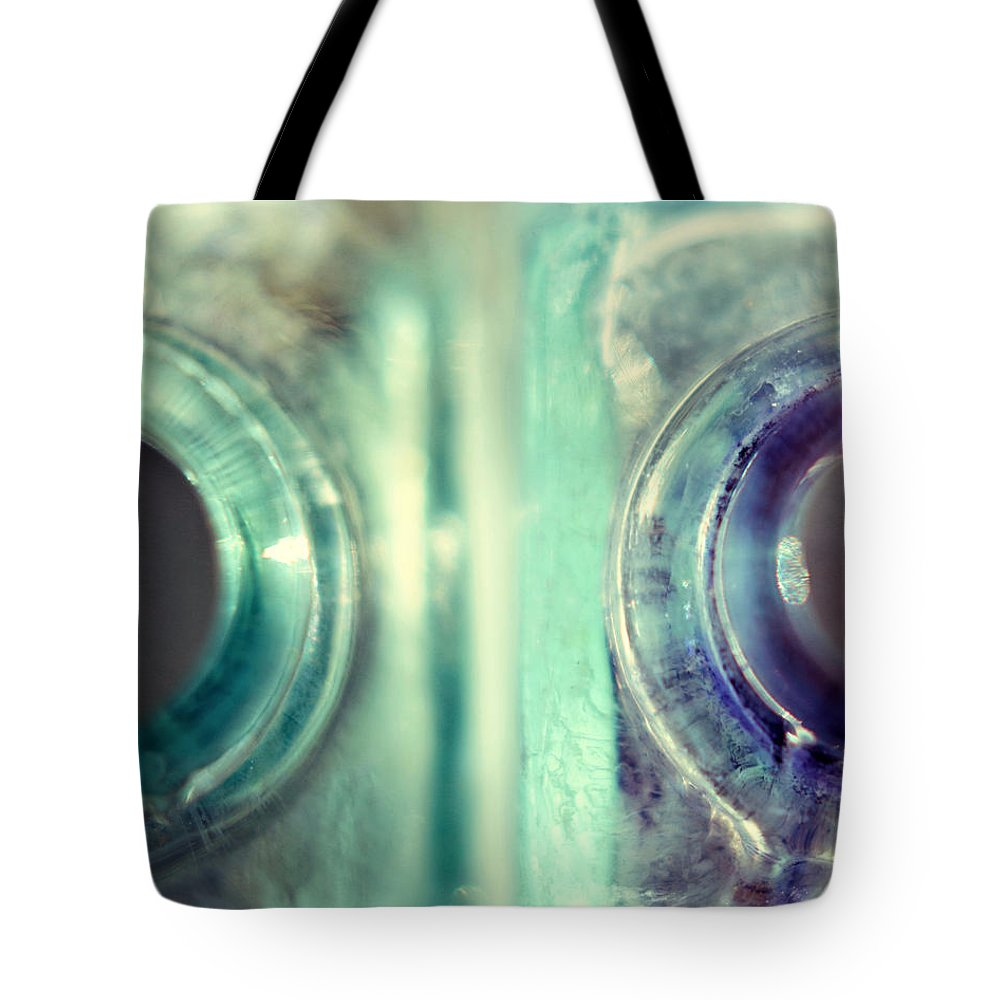 Modern Art Tote Bag featuring the photograph Antique Inkwells by Amy Tyler