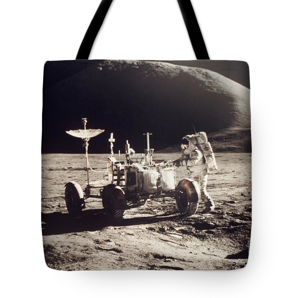 1971 Tote Bag featuring the photograph Apollo 15, 1971 by Granger