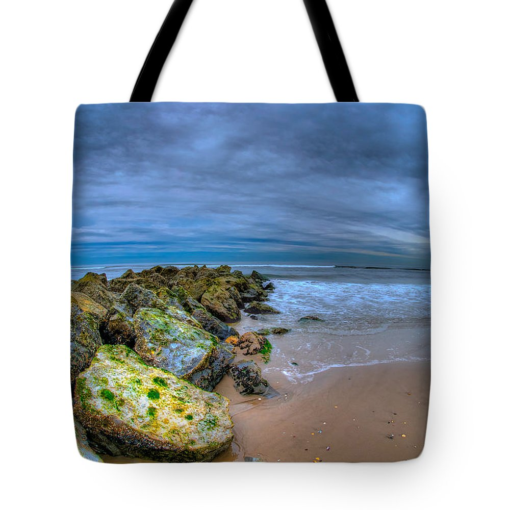 Atlantic Tote Bag featuring the photograph Approaching The Underworld by Mike Deutsch