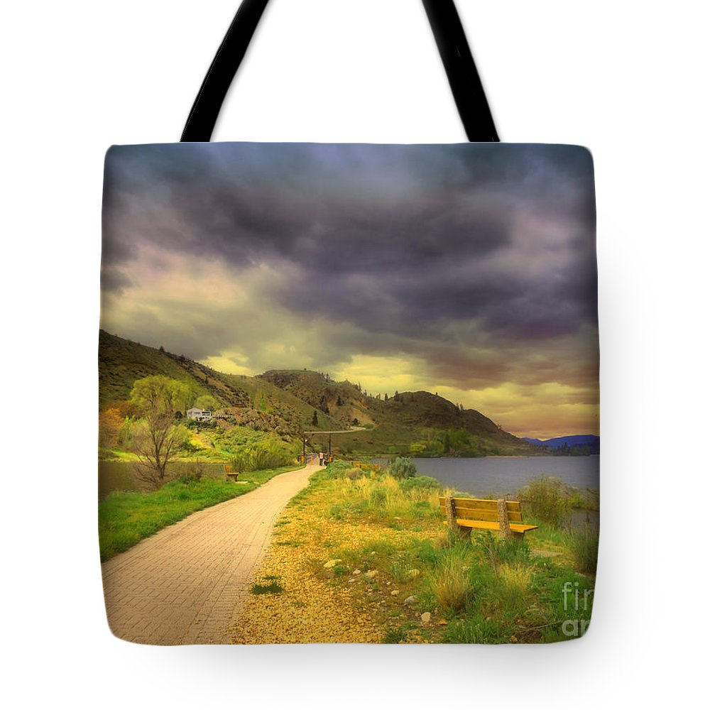 Path Tote Bag featuring the photograph April 29 2010 by Tara Turner
