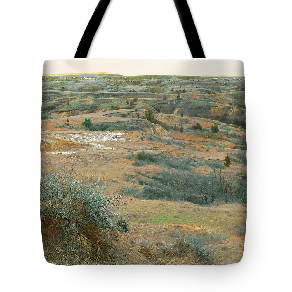 North Dakota Tote Bag featuring the photograph April Daydream by Cris Fulton