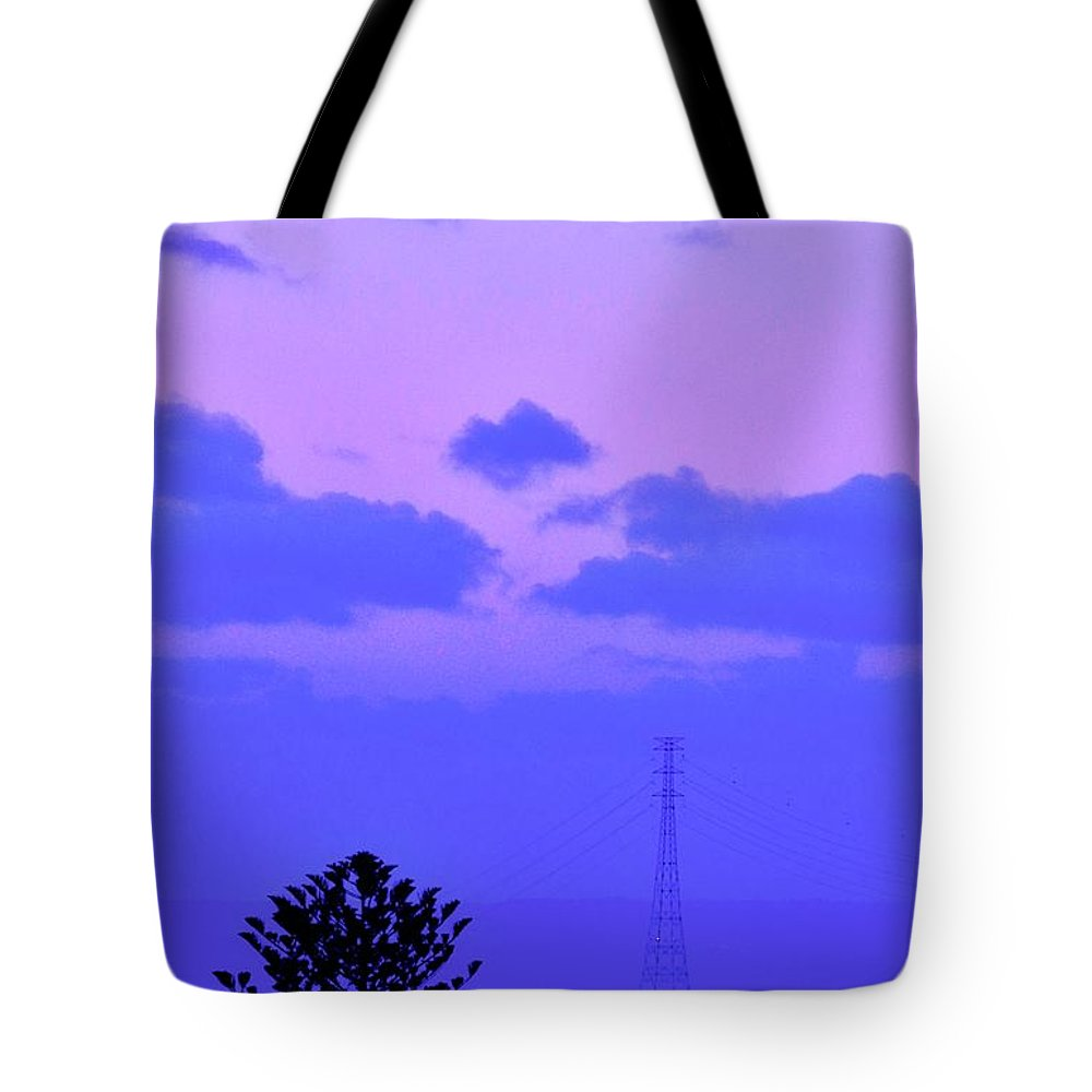 Full Moon Tote Bag featuring the photograph April Full Moon Over Adelaide by Kirsten Giving