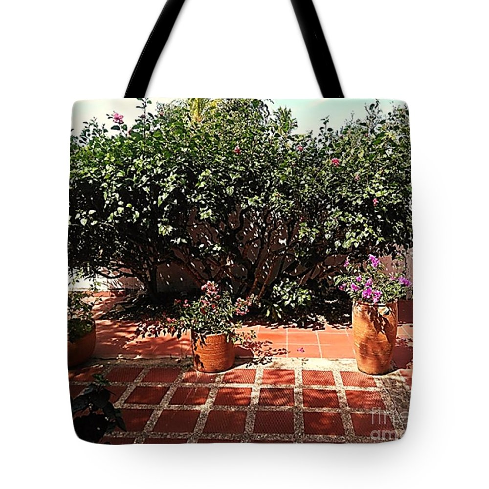 Tote Bag featuring the photograph Arboletes 2 by Pahola Baro Sfer