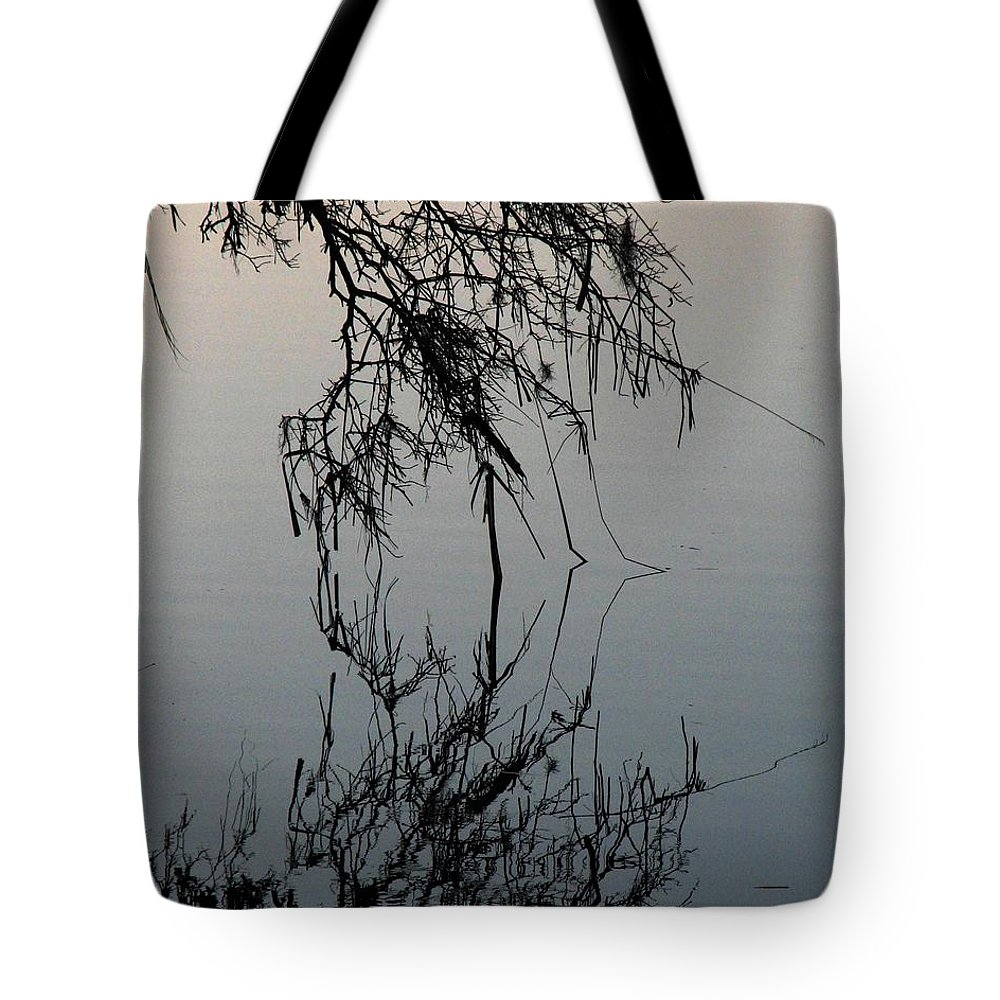 Arbor Tote Bag featuring the photograph Arbor Reflections by J M Farris Photography