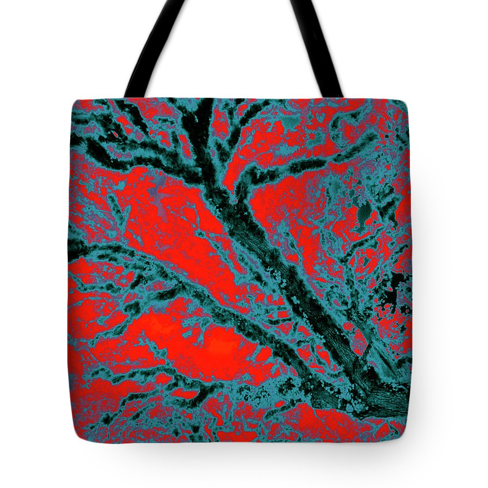 Trees Tote Bag featuring the photograph Arboreal Plateau 6 by Gary Bartoloni