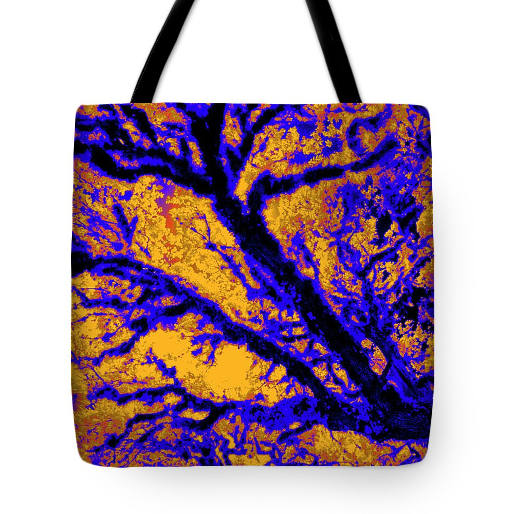 Trees Tote Bag featuring the photograph Arboreal Plateau 7 by Gary Bartoloni