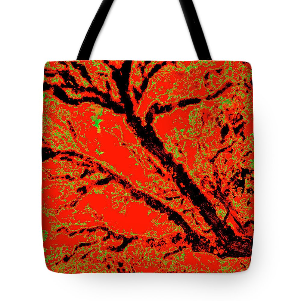 Trees Tote Bag featuring the photograph Arboreal Plateau 8 by Gary Bartoloni