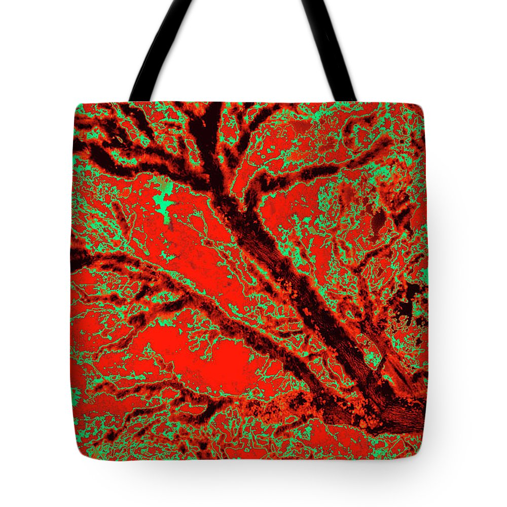 Trees Tote Bag featuring the photograph Arboreal Plateau 9 by Gary Bartoloni