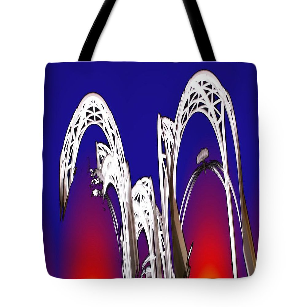 Seattle Tote Bag featuring the photograph Arches 8 by Tim Allen