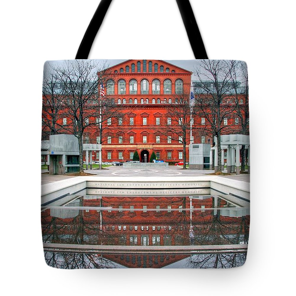 Architecture Tote Bag featuring the photograph Architecture by Mitch Cat