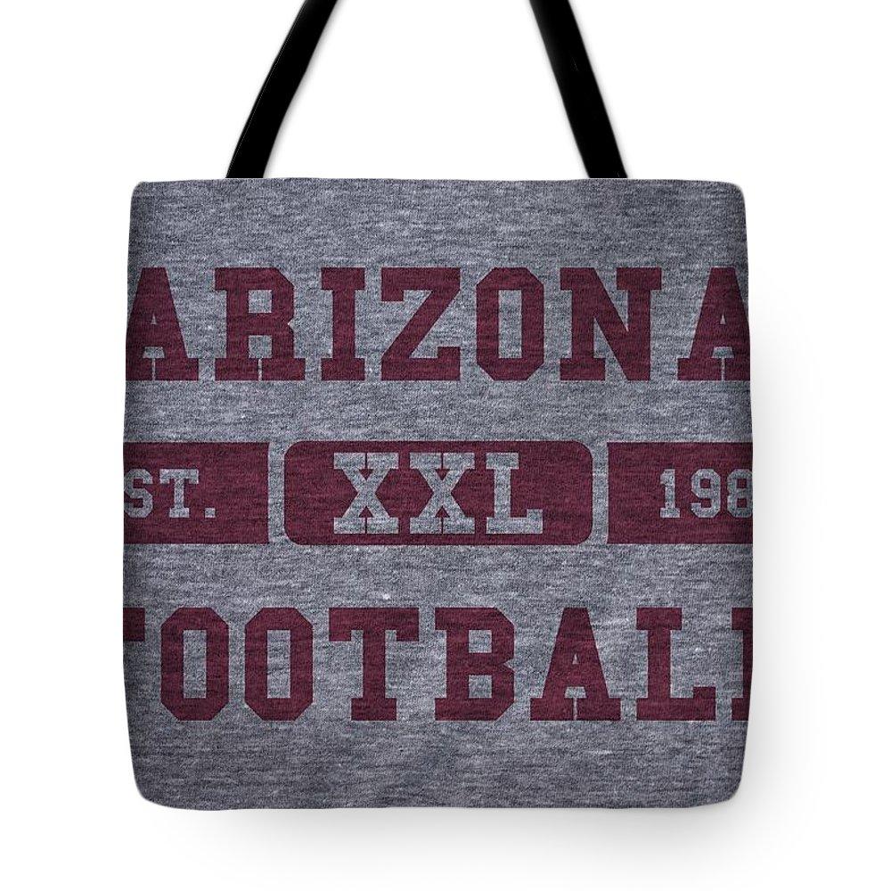 Cardinals Tote Bag featuring the photograph Arizona Cardinals Retro Shirt by Joe Hamilton