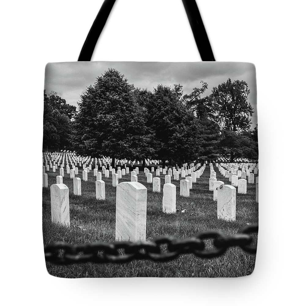 Hasselblad500cm ..acros100..film Tote Bag featuring the photograph Arlington by Andre Thibault
