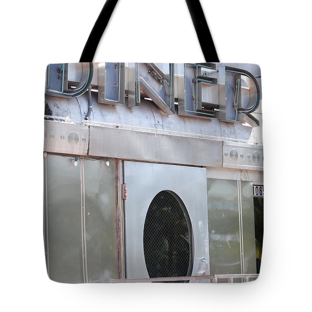 Architecture Tote Bag featuring the photograph Art Deco Diner by Rob Hans