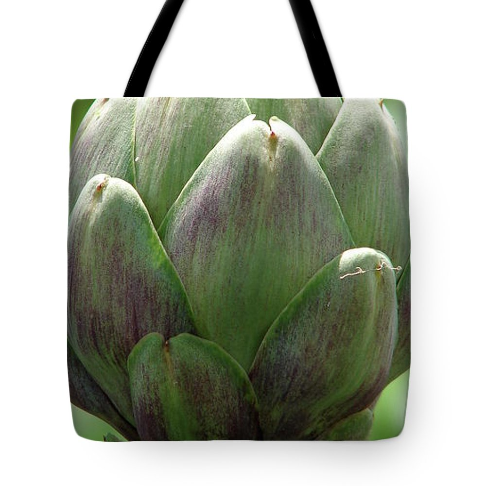 Artichoke Tote Bag featuring the photograph Artichoke In Spain by Brett Winn