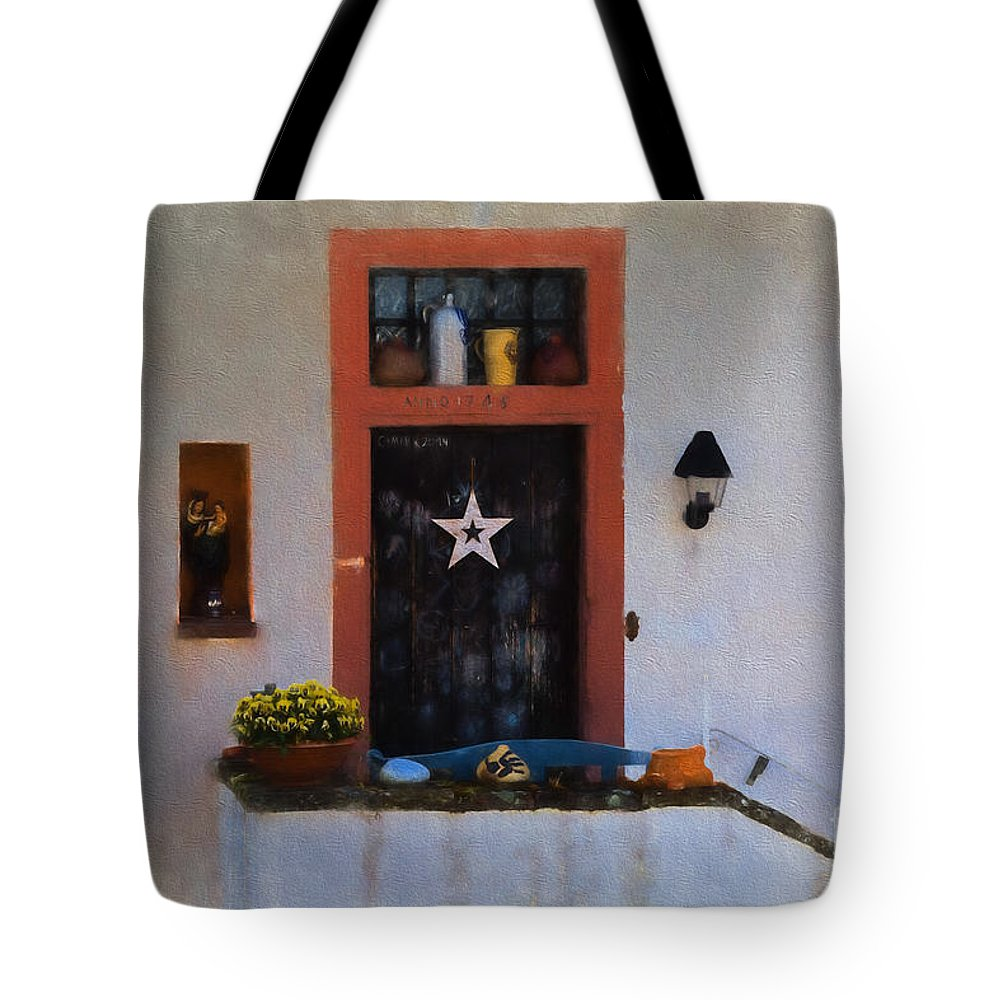 Manderscheid Tote Bag featuring the digital art Artisan In Manderscheid by Gary Rieks