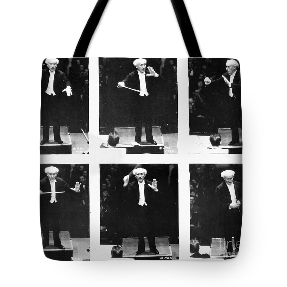 1938 Tote Bag featuring the photograph Arturo Toscanini by Granger