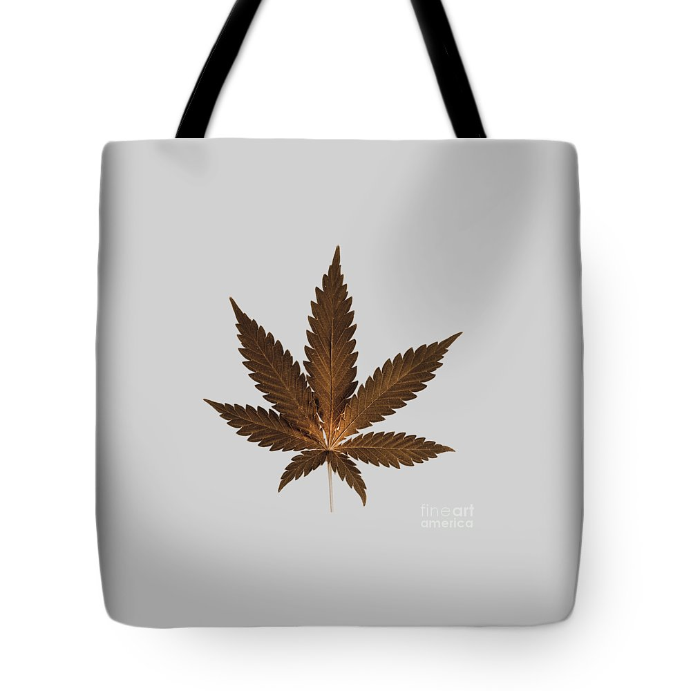Cannabis Phone Case Tote Bag featuring the photograph Cannabis Sativa Phone Case by Mark Rogan