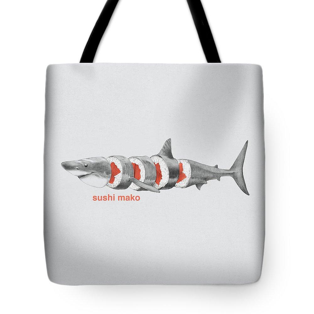 Shark Week Tote Bags