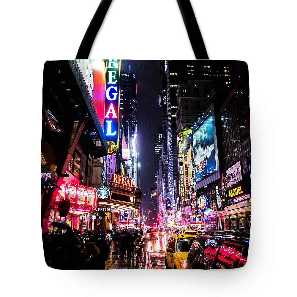 Night Time Photographs Tote Bags
