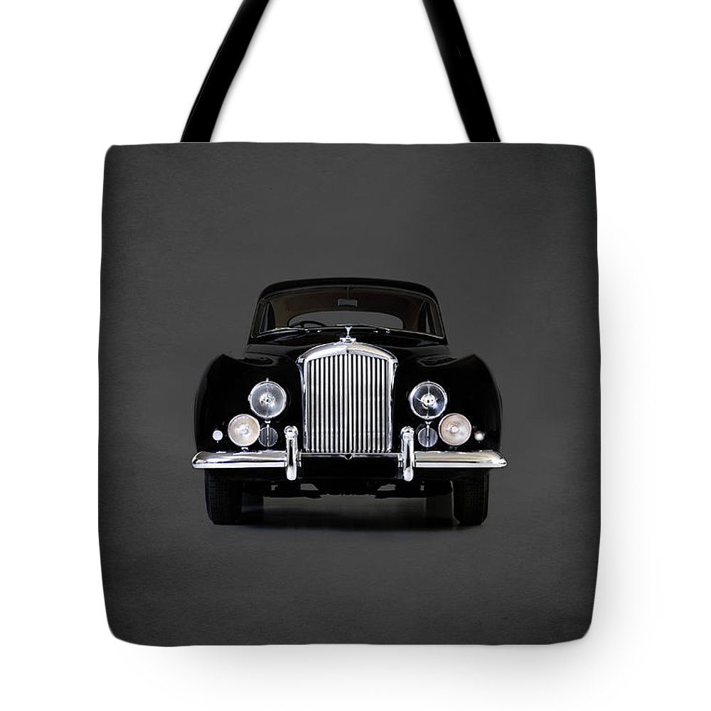 Bentley Tote Bag featuring the photograph Bentley Continental 1952 by Mark Rogan