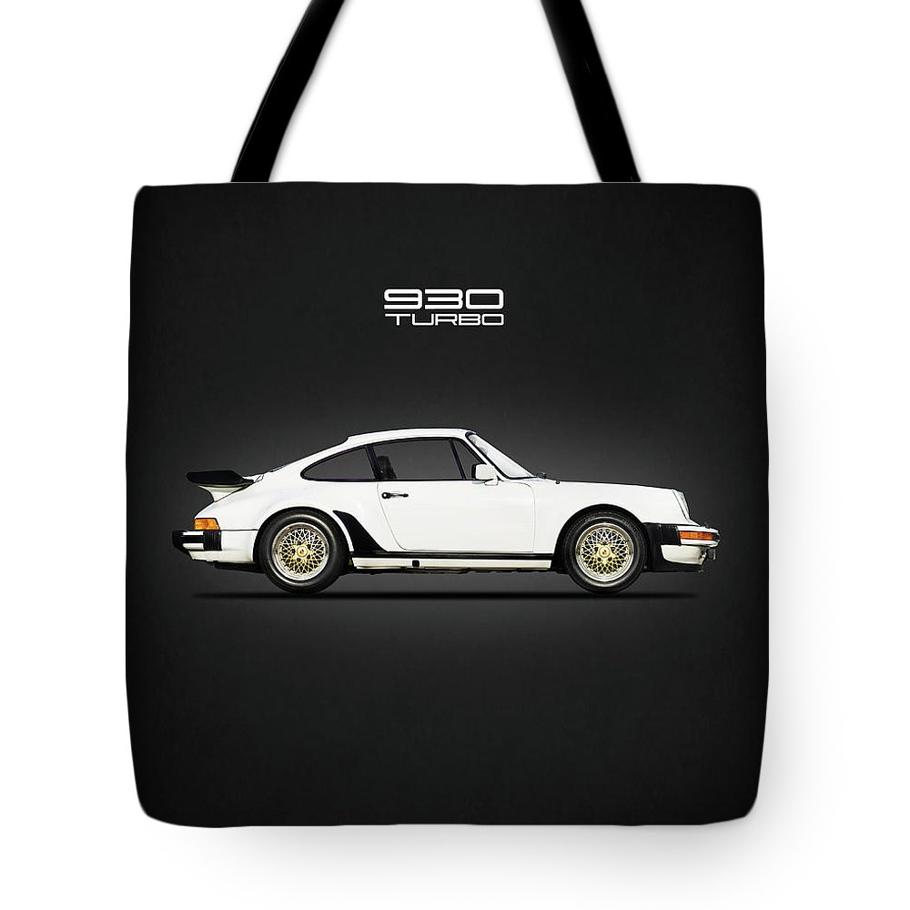 Porsche 911 Turbo Tote Bag featuring the photograph The Porsche 911 Turbo by Mark Rogan