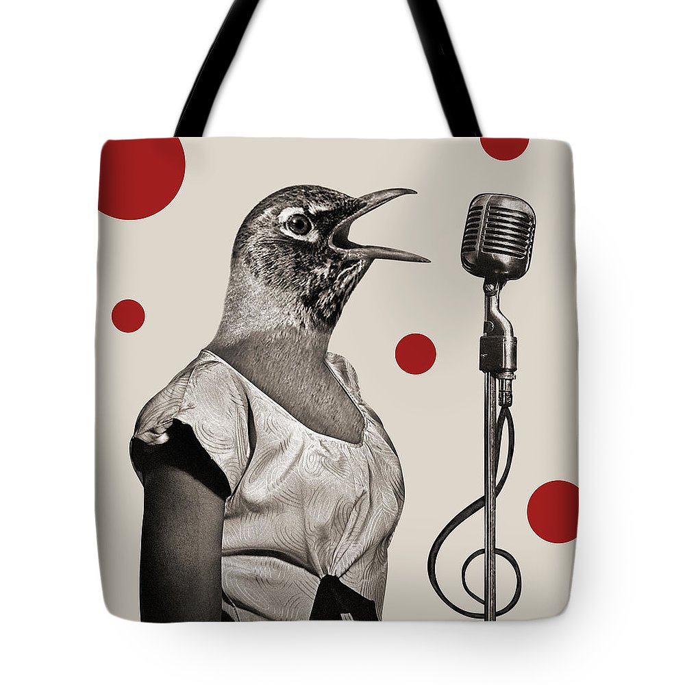 Sing Tote Bag featuring the photograph Animal16 by Francois Brumas