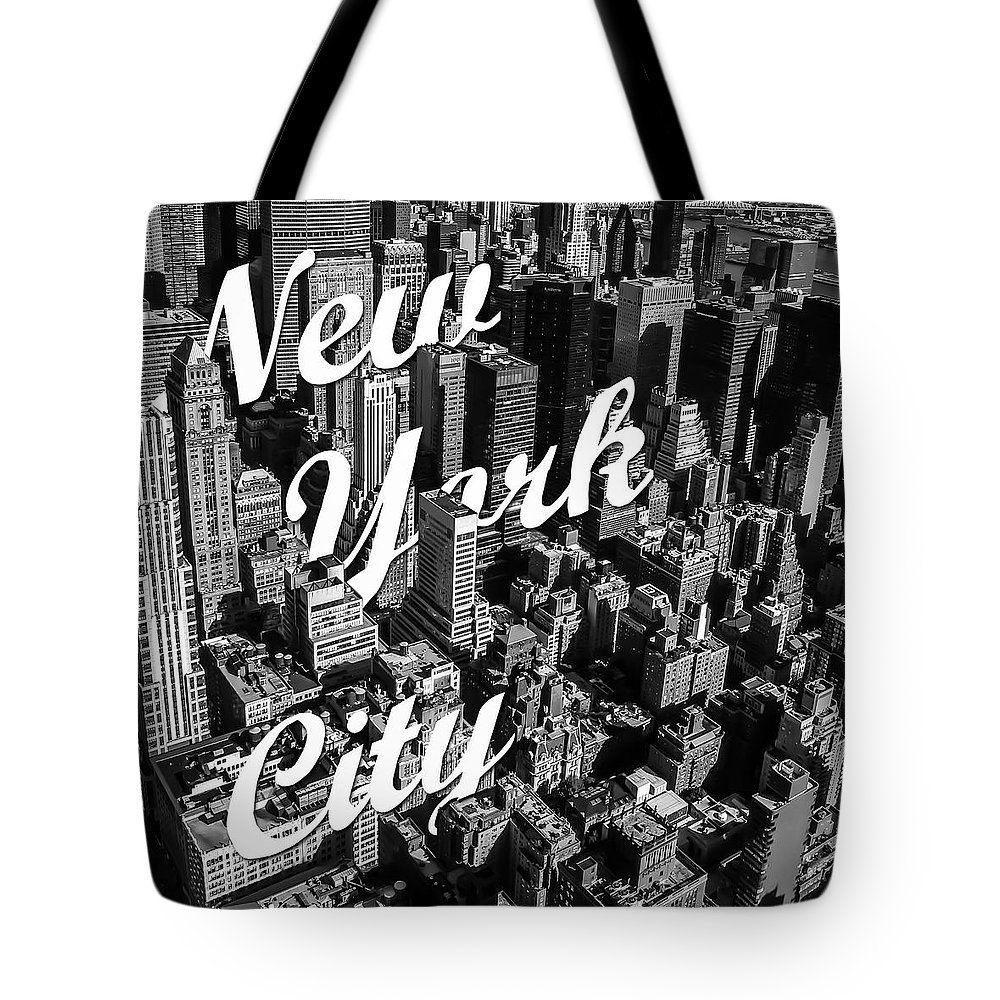 White Photographs Tote Bags