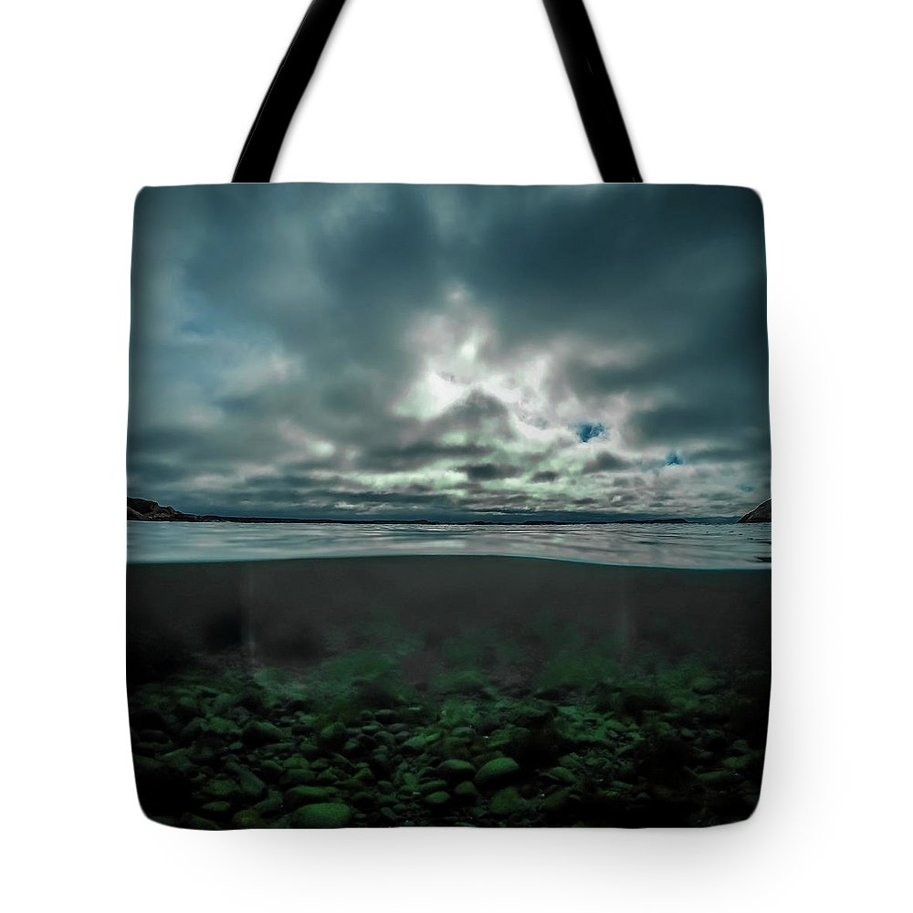 Underwater Tote Bag featuring the photograph Hostsaga - Autumn tale by Nicklas Gustafsson