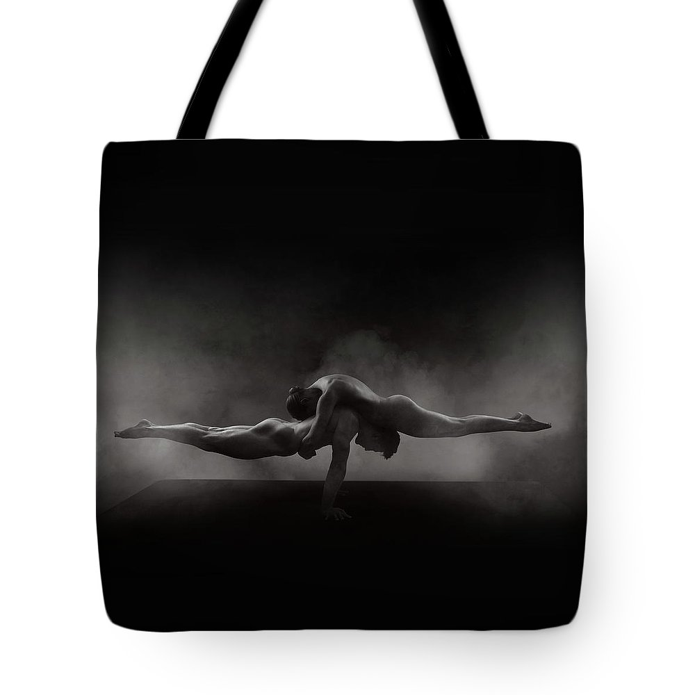 Nude Tote Bag featuring the photograph Balance by Pete Saloutos
