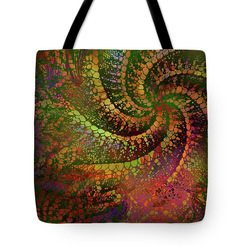Tote Bag featuring the digital art Libra by Sandra Paradise