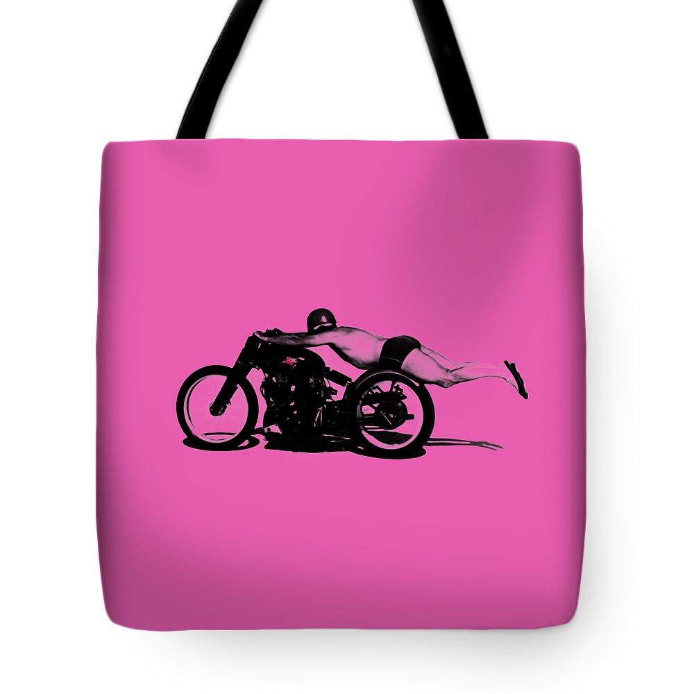 Harley Davidson Motorcycle Tote Bags Fine Art America Pink