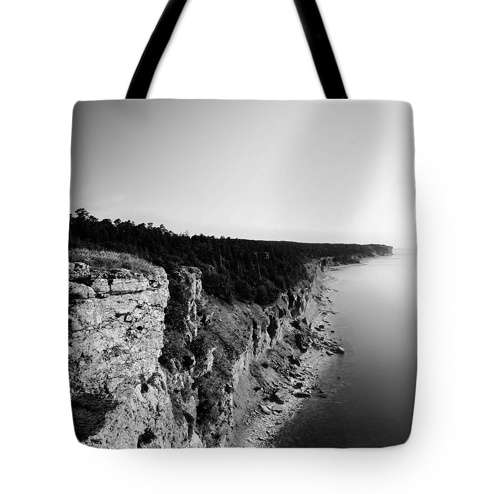 Nature Tote Bag featuring the photograph Where sea meets land by Nicklas Gustafsson
