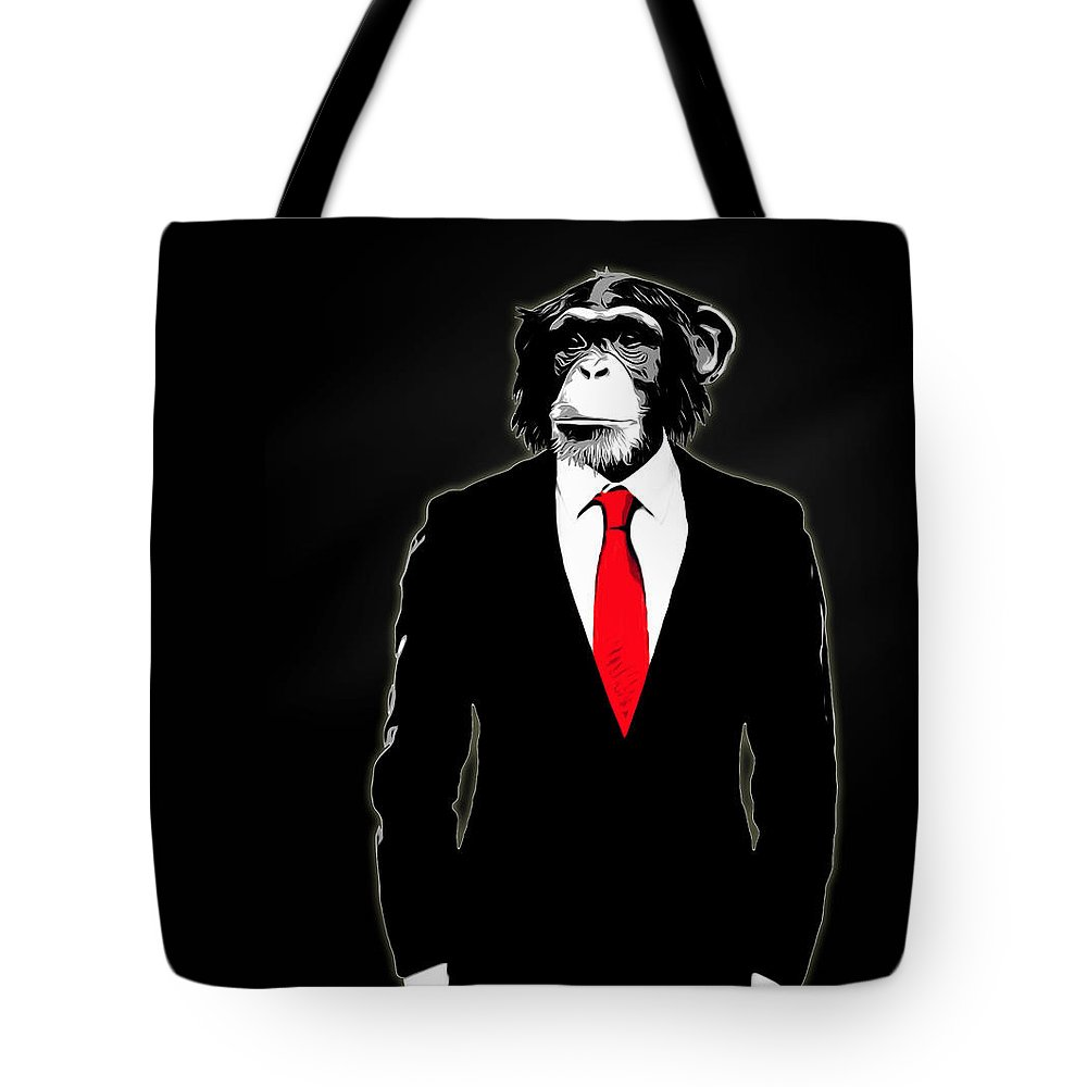 Suit Paintings Tote Bags