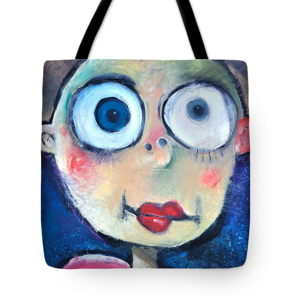 Child Tote Bag featuring the painting As A Child by Tim Nyberg