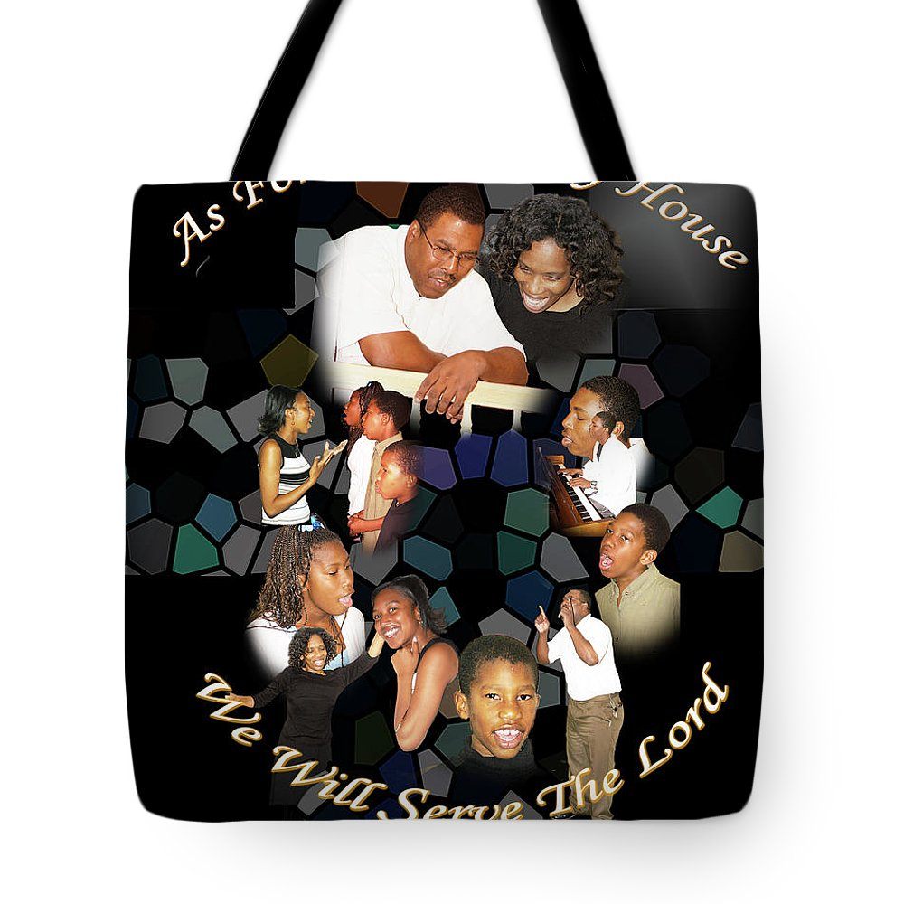 Tote Bag featuring the photograph As For My House by Richard Gordon