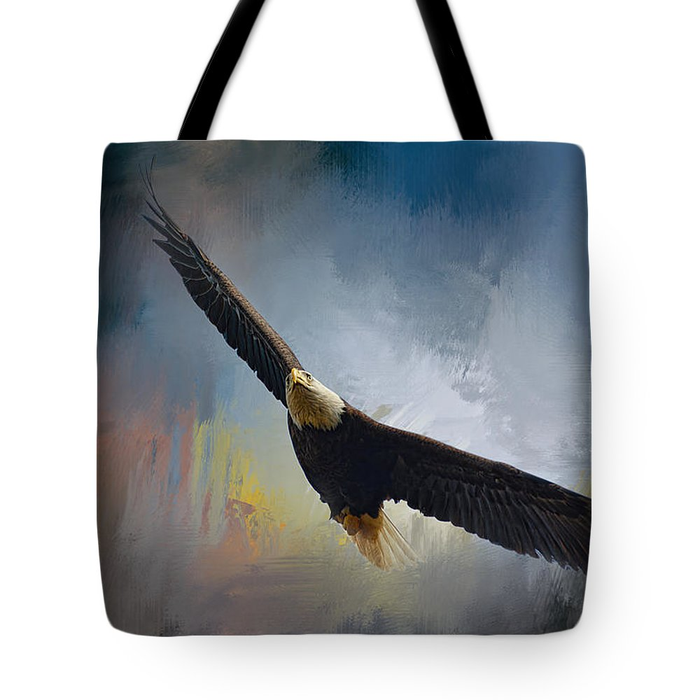 Jai Johnson Tote Bag featuring the photograph Ascending by Jai Johnson