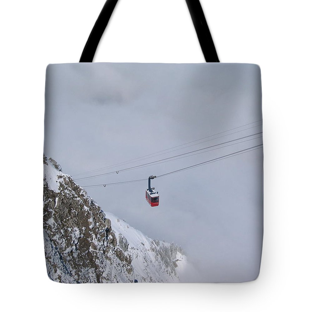Landscape Tote Bag featuring the photograph Ascension by Dylan Punke