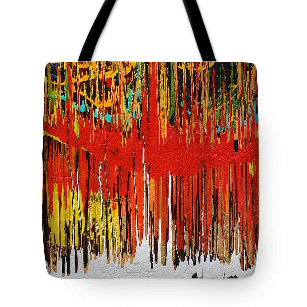 Fusionart Tote Bag featuring the painting Ascension by Ralph White