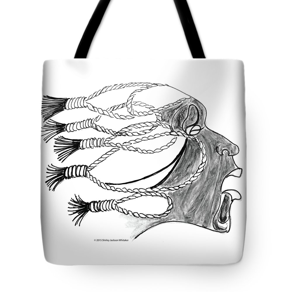 Ashes To Ashes Tote Bag featuring the digital art Ashes 2 Ashes by Shirley Whitaker