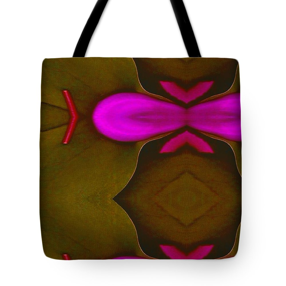 Patterns Tote Bag featuring the mixed media Asian Popart by Pepita Selles