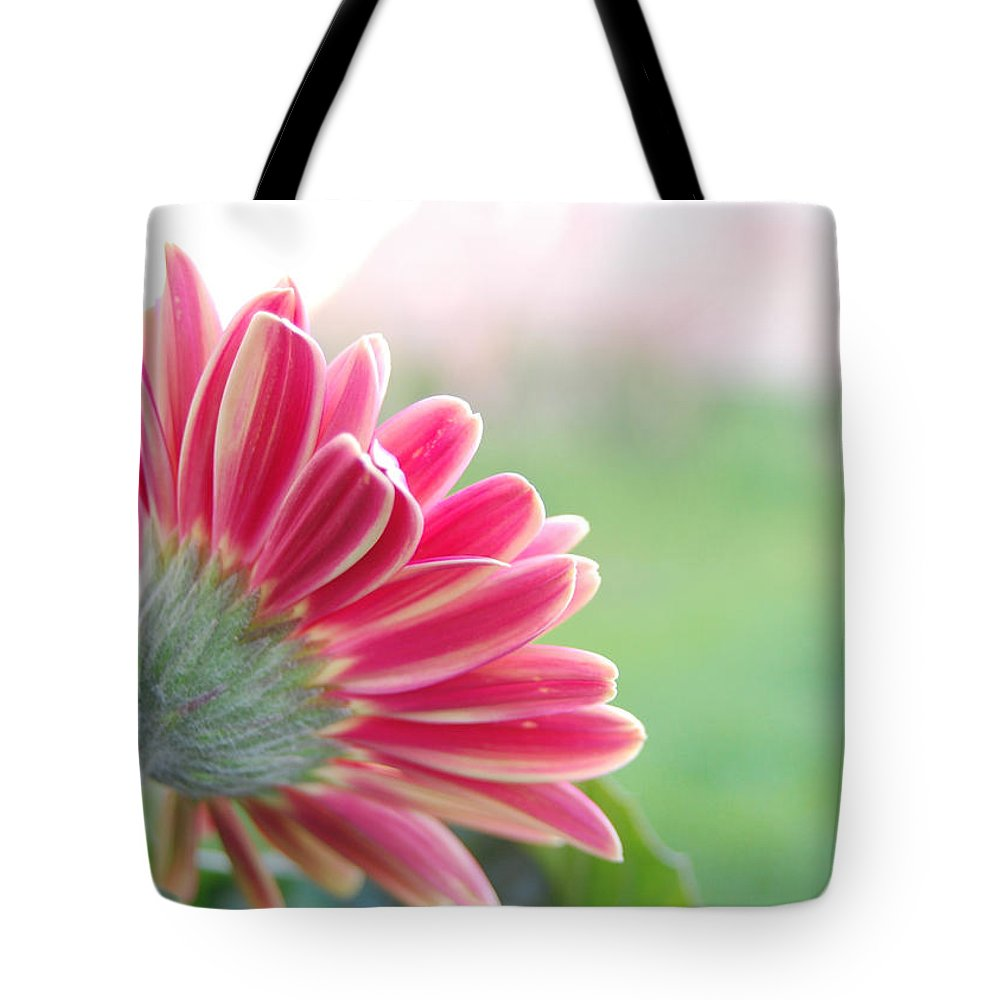 Flower Tote Bag featuring the photograph Aspiring by Amy Fose