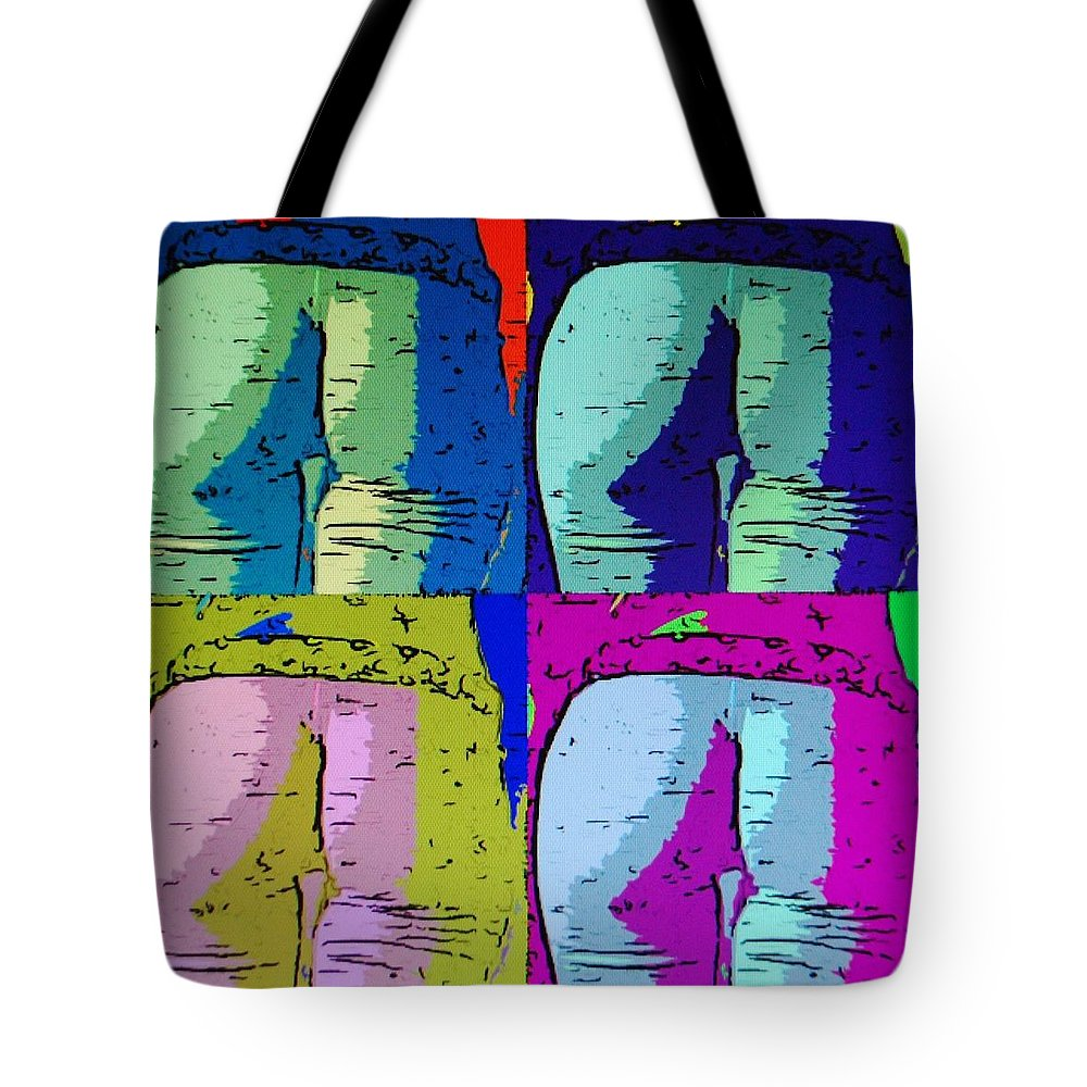 Ass Tote Bag featuring the photograph Ass Colors by Rob Hans