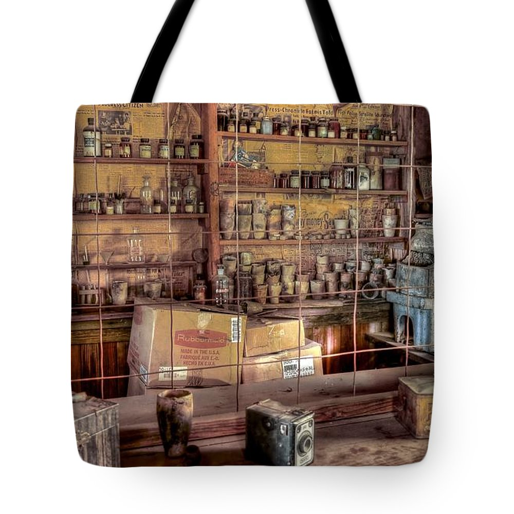 4x4 Tote Bag featuring the photograph Assay Office by Backcountry Explorers