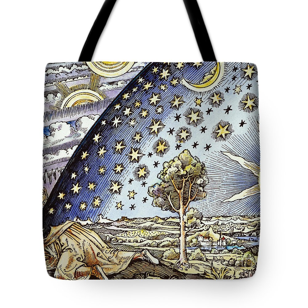 16th Century Tote Bag featuring the photograph Astrology, 16th Century by Granger
