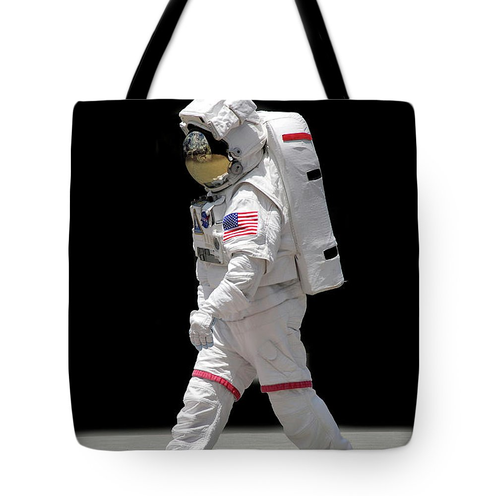 Apollo Tote Bag featuring the photograph Astronaut by Francesa Miller