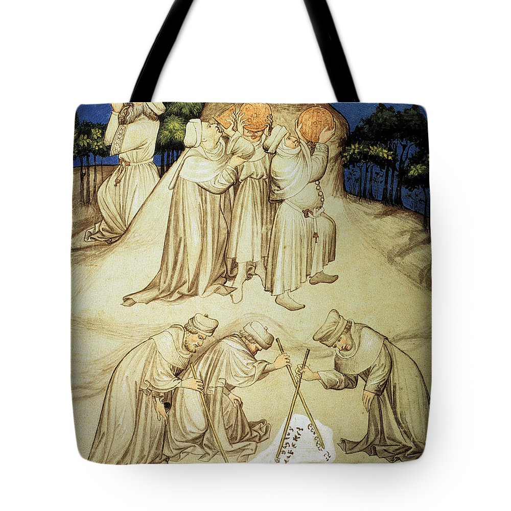 15th Century Tote Bag featuring the photograph Astronomers by Granger
