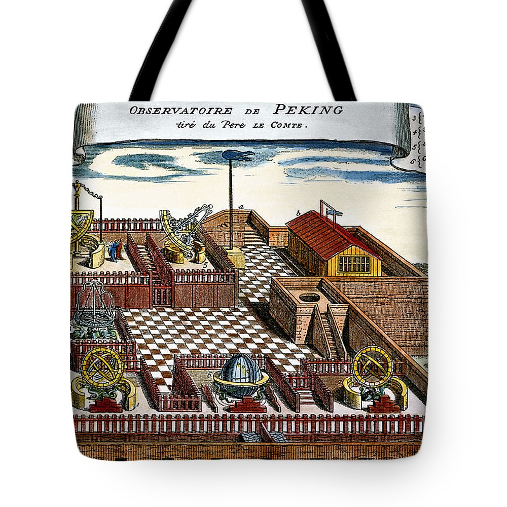 1698 Tote Bag featuring the photograph Astronomical Observatory by Granger