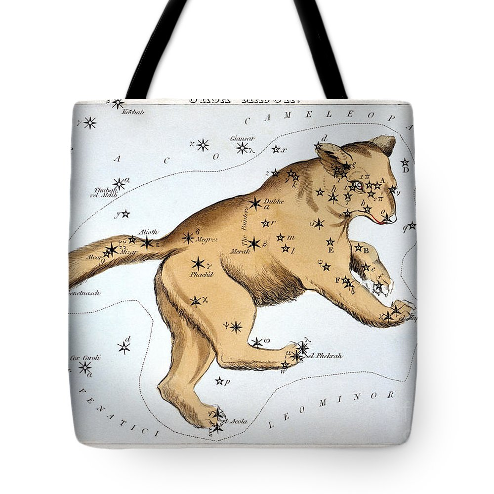 1825 Tote Bag featuring the photograph Astronomy: Ursa Major by Granger